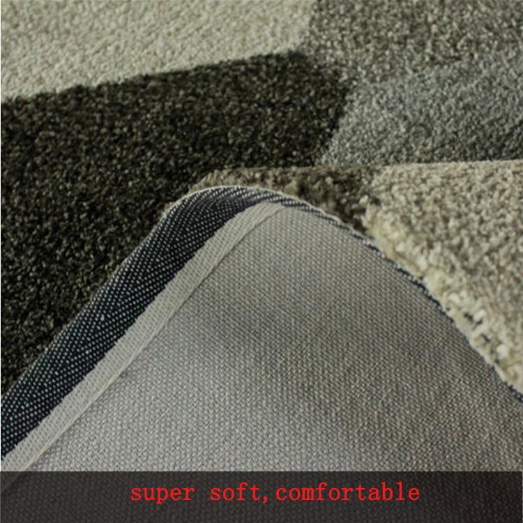 Plain Shaggy Carpet Rug Supplier