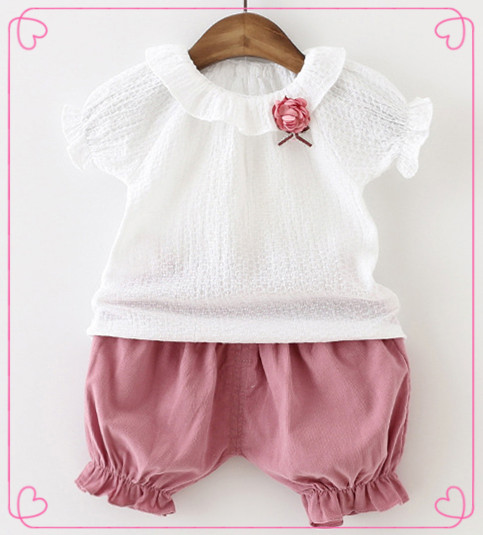 2017 latest fashion unique birthday cute breathable kids wear skirts children girl baby clothes clothing set