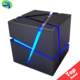 Multi Color Cubic Portable Bluetooth Speakers Led Light Cube Wireless Blue Tooth Speaker Bt Cubic Mini Speaker Support Tf Card