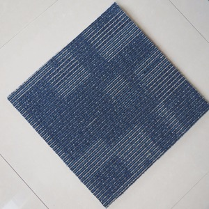 High and low loop pile carpet 50x50cm 100% PP material High Quality PVC backing for hotel