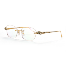 Luxury Gorgeous 안경 <span class=keywords><strong>프레임</strong></span> 무테 18 K <span class=keywords><strong>금</strong></span> Diamonds spy Optic 독서 Glasses 대 한 Unisex