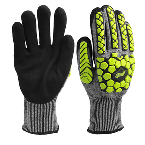 Anti cut TPR impact safety gloves mechanic impact safety gloves