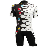 Whoelsale OEM Factory Sportswear Mens Designs Sublimation Printing Short Sleeve Cycling Jersey Set Mens Outdoor Road Riding Wear