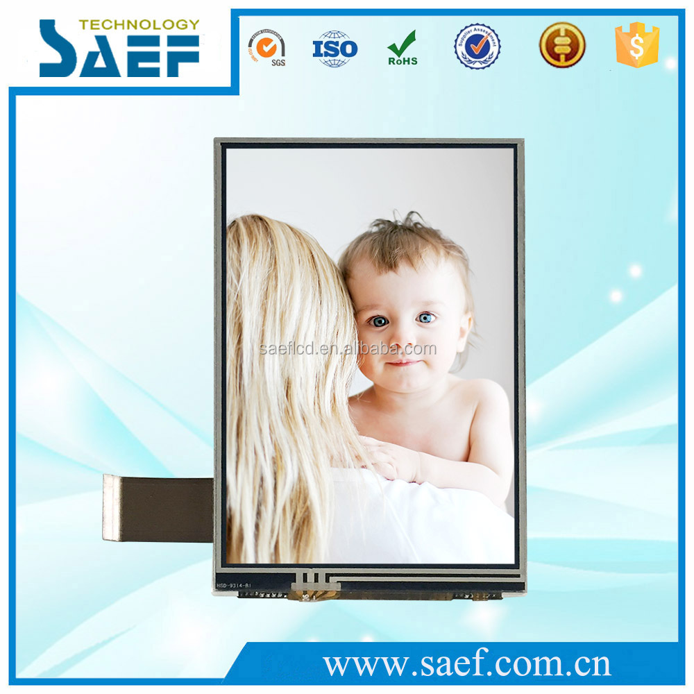 with 480*800 pixels built in RGB 24 BIT interface 4 inch tft lcd display