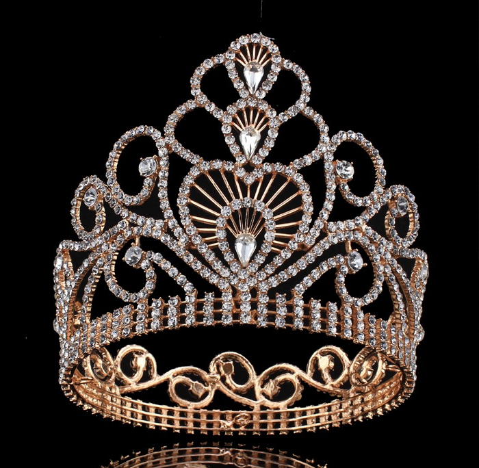 Fashion Beauty Award Ceremony Queen's Full Circle Wedding Crown Tiara
