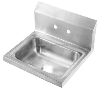 Wall Hung Type Stainless Steel Kitchen Wash Basin Sink Gr 557 Buy