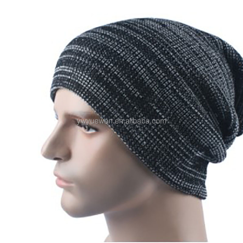 High quality wool hat fashion knitted cap men and women outdoor set head cap autumn and winter ski warm hat.
