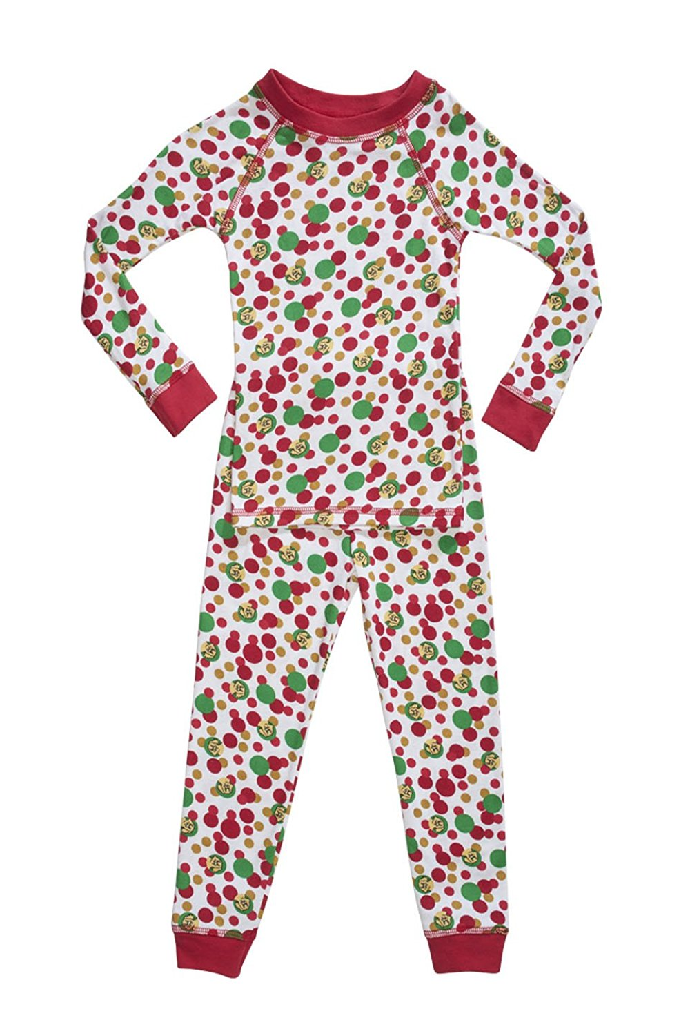 Brian the Pekingese 100% Organic Cotton Holiday Pajamas for Boys & Girls