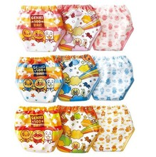 6pcs lot baby potty training pant diaper panties for infant waterproof underwear briefs XLK001