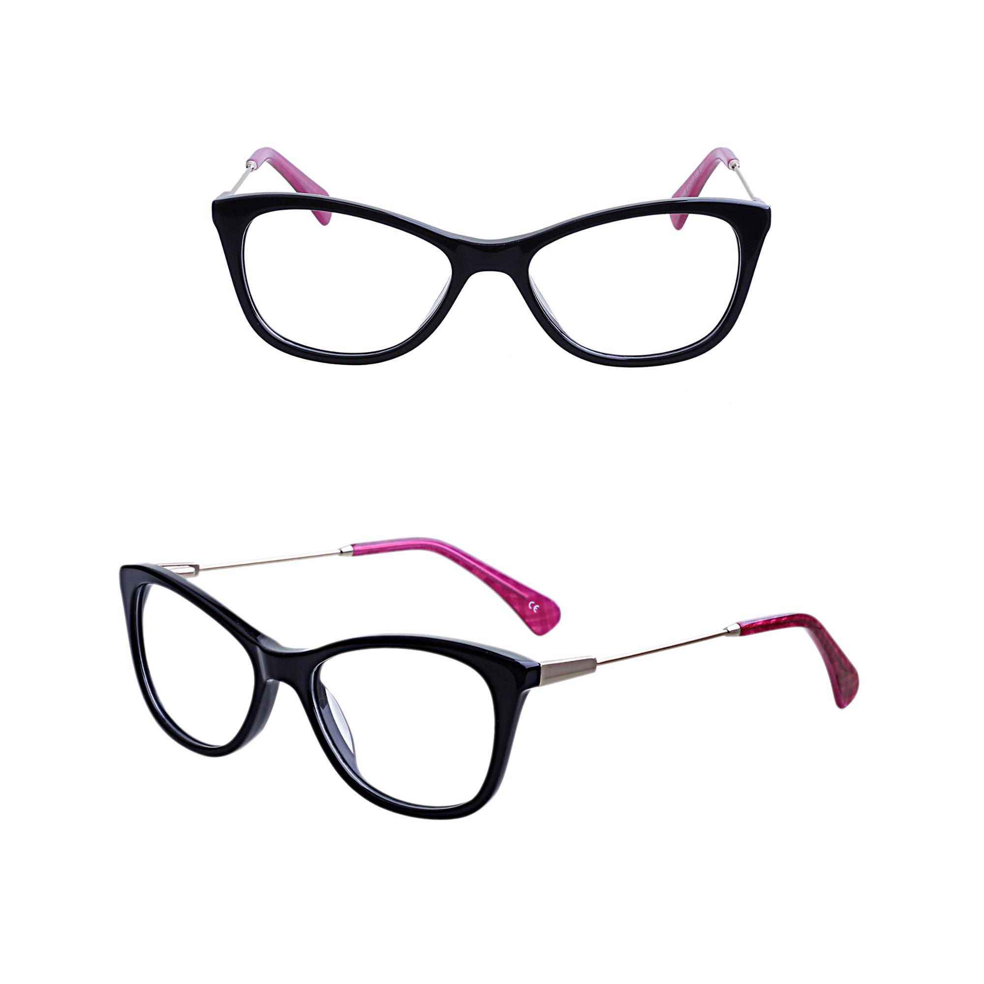new arrivals 2018 acetate model optical frames manufacturers women eye glasses eyeglass frame in china