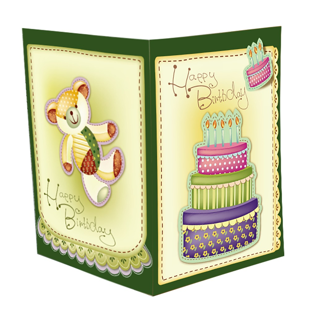 Wholesale High Quality Happy Birthday Greeting Card Custom Music Invitation Cards