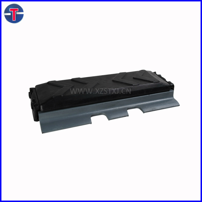 excavator steel and rubber track /track shoe /track pad for PC200-5-6 EX220-1-5