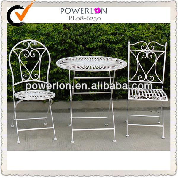 Conjuntos de reposteria y sillas de hierro forjado para - Sillas de porche ...