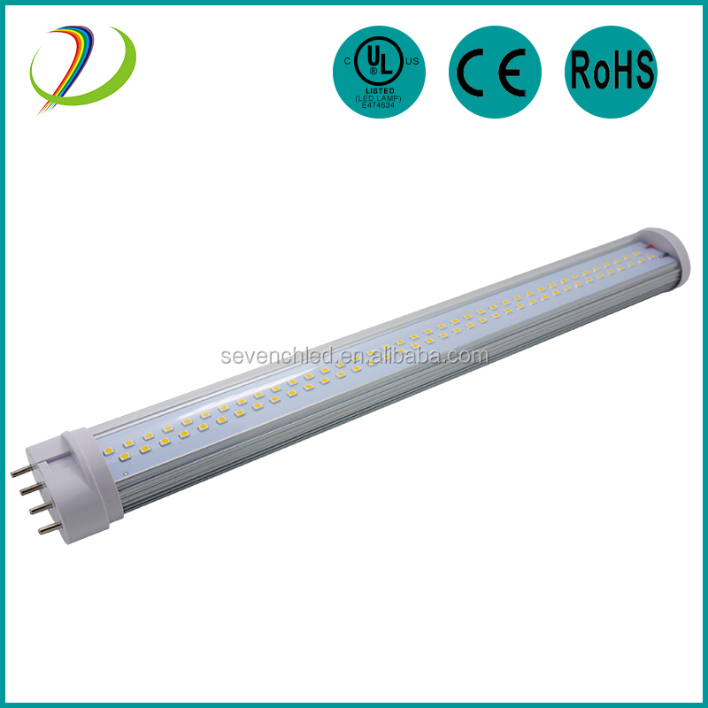 2016 new design UL CE RoHS 4pin 2G11 led pll lamp tube 3 years warranty 2012 most popular led tube