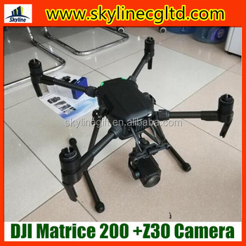 Industrial Waterprooft DJI Matrice 200 Drone with Zenmuse Z30 gimbal camera