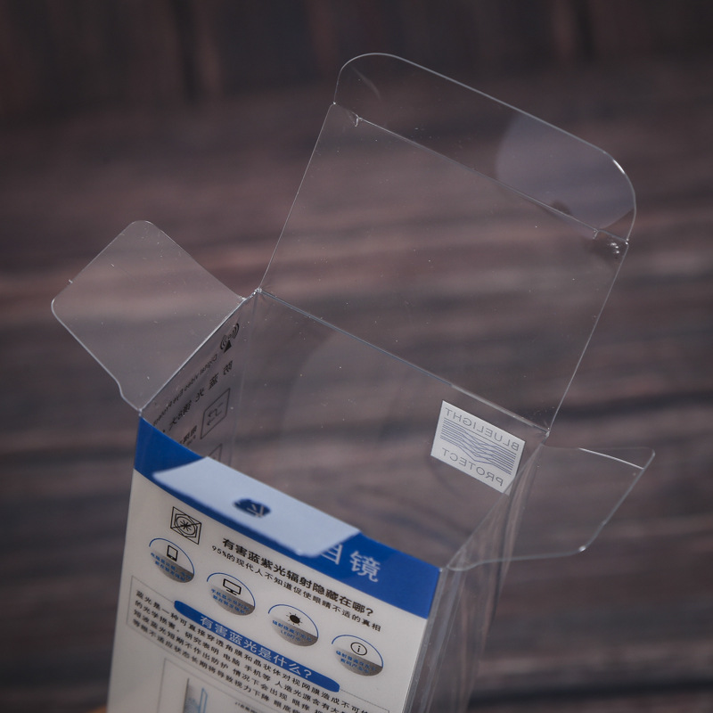 Formato personalizzato PVC/PP/PET sacchetto di Plastica di Imballaggio Scatola Trasparente per I Prodotti per Bambini