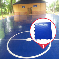 Long time service used futsal court flooring