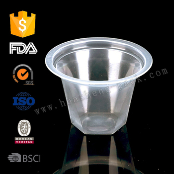 Disposable Plastic Small Jelly Cup