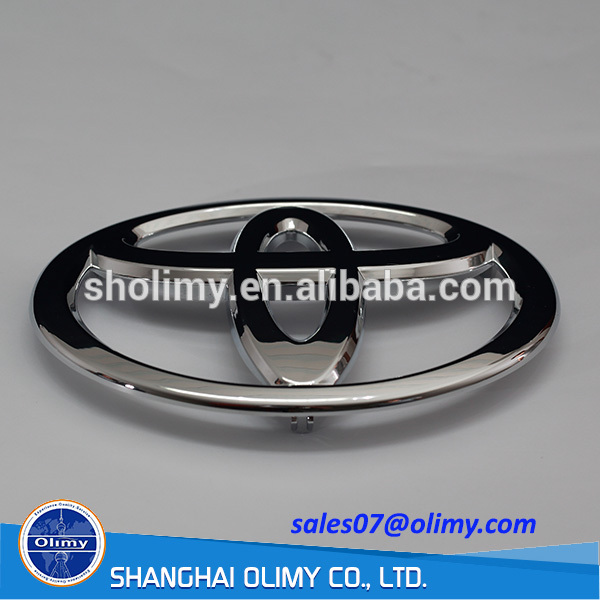 car plastic Trivalent Chrome plated Part by injection moulding
