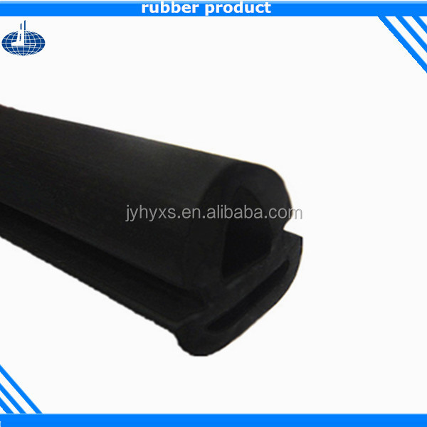 Jiangyin Huayuan supplys customized wood door rubber seal gasket