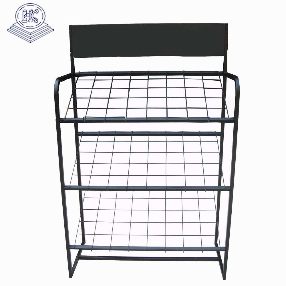 3 layer durable light duty custom wire rack