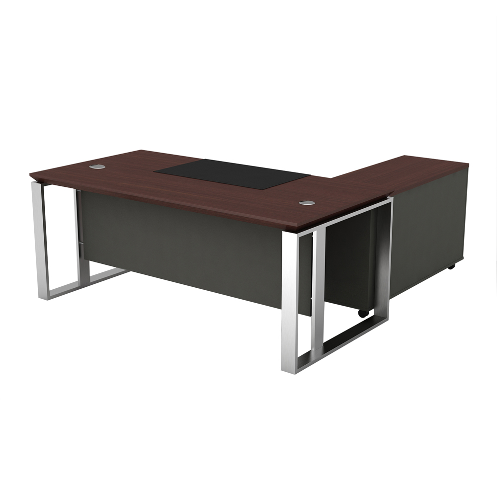 Combination executive office table managing directors office furniture design front office desk design