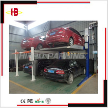 High quality 2 post design car parking lift type parking system