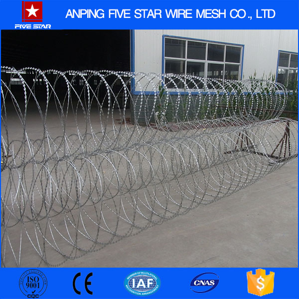 razor barbed wire concertina coil thorn wire with cheap prices