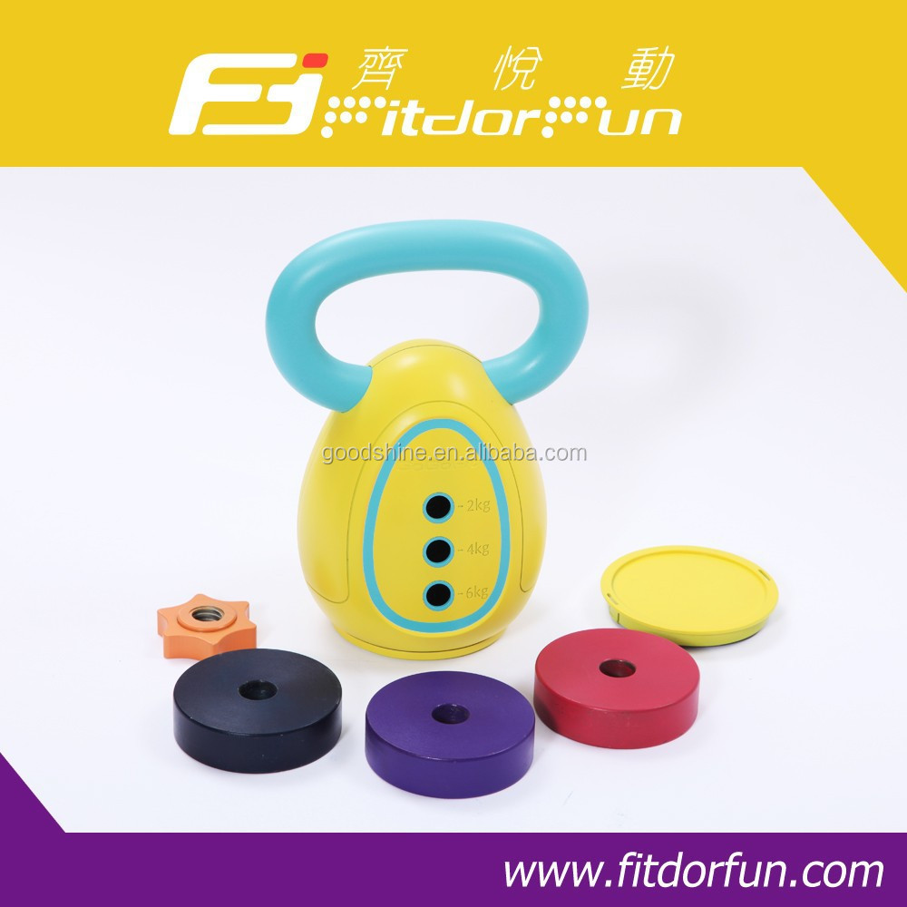 Hot Selling World First Patented Adjustable Weight Kettle Bell