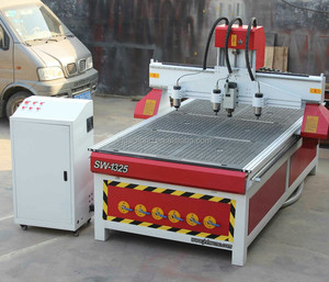 China 4 axis 5 aixs cnc router for sale 3d wood door carving machine for sign making price