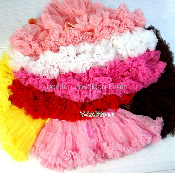 fluffy tutu skirt for baby girls