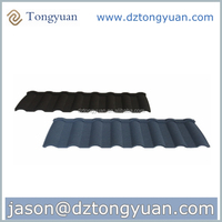 Cost-effective tongyuan Stone Coated Metal Roofing Materials for Residential