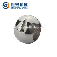 Professional manufacture high polished hollow ball, sanitary machinery parts with good metal