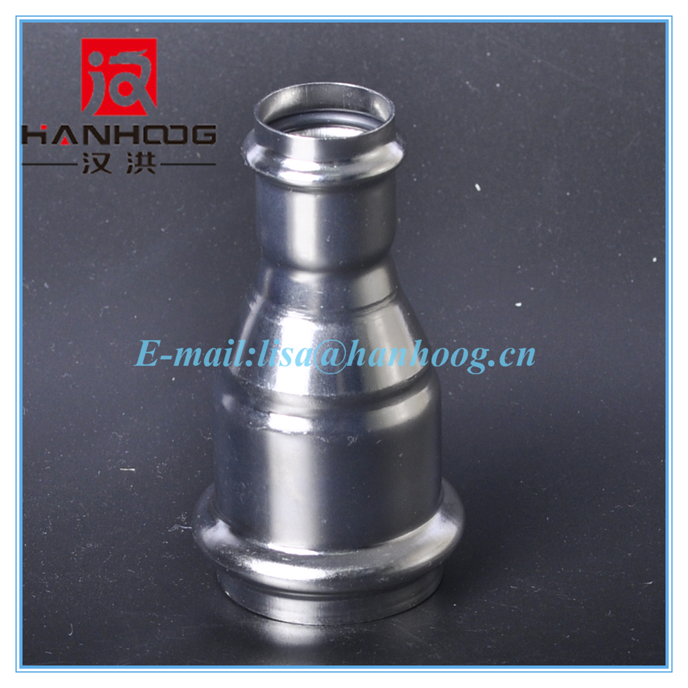 Shanghai big factory provide stainless steel reducer coupling