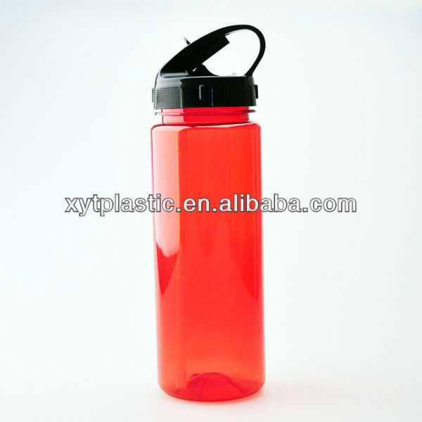 Outdoor climbing the mountain water bottle transparent plastic material