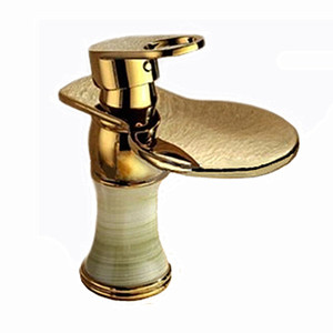 European Brass Luxury Golden Faucet Antique Spout Sink Mixer Tap Wash Bathroom Basin Faucet