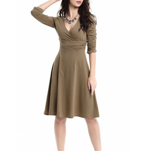 Casual Style Office Lady Girls Top Fashion Dress Direct Supplier