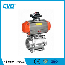 150LB Flanged Stainless Steel Ball Valves Actuator Ball Valves