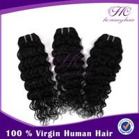 Top seller fast shipping Brazilian 100g per bundles deep wavy curly hair weave drop shipping