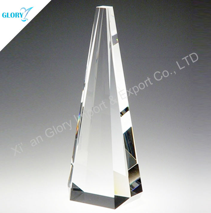 Bright Blank Tower Crystal Glass Mould