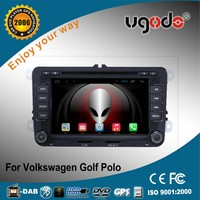 Pure android 4.4.2 7 inch car dvd 2 din HD Volkswagen VW Polo(MK5) 2010 car stereo