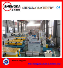 PVC single wall corrugated pipe machine/production line