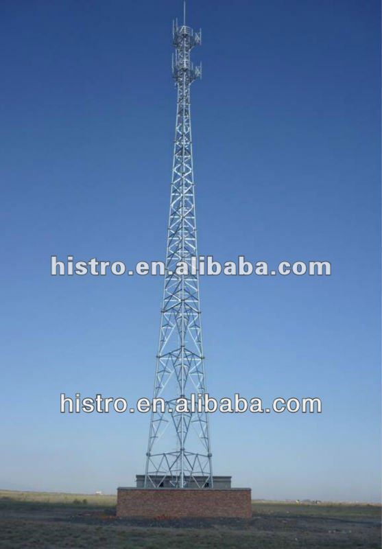 Telecom Tower (Steel Lattice Tower With CE Certificate)