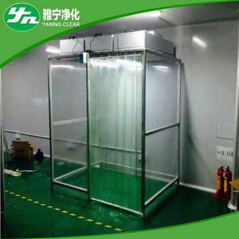 Air Filter Cleaning Booth For Dust Free Portable Clean