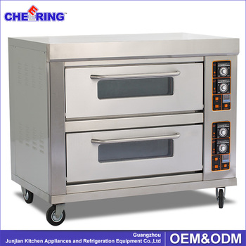 Two Deck Four Pan Oven Wholesale Baking Supplies Bakery - Buy Best Oven For  Baking Cakes,Bread Ovens,Commercial Brick Pizza Ovens Product on