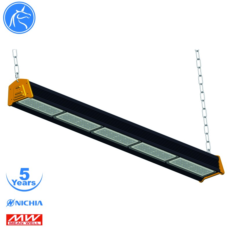 modular LED linear highbay light 200W, beam angle 90/ 65*100/30*100