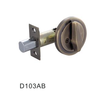 Antique Br Keyless Deadbolt Entry Locks D103ab
