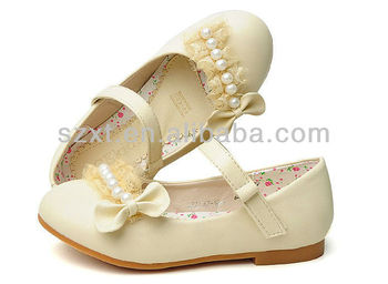 Lovely Comfort Sweet Lace Bow Children Flat Dress Shoes For Girls ...