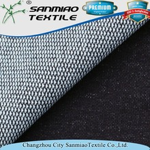 Wholesale indigo cotton polyester knit denim fabric for jeans WHTP-2201