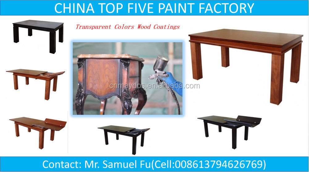 CHINA TOP FIVE COATING SUPPLIER-Maydos Water Borne Resin Furniture Coating